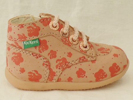 KICKERS BONZIP rose