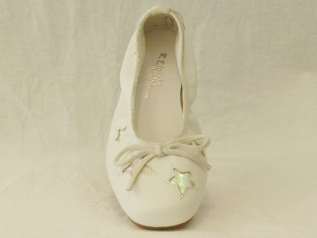 REQIN'S HAPPY lisse blanc-chaussures-lampre-juvisy